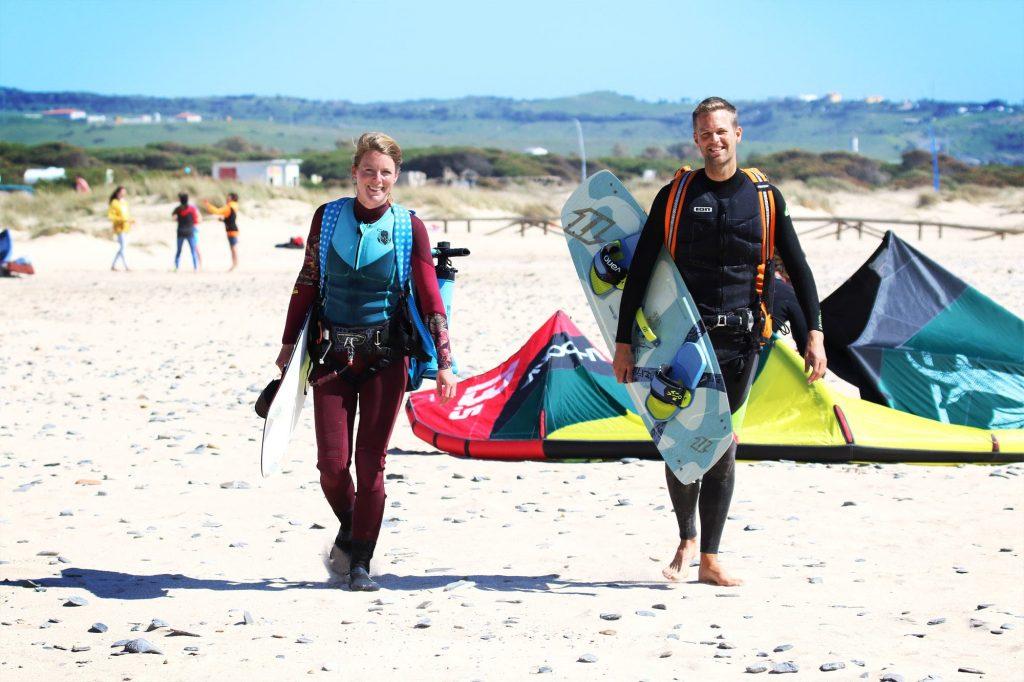 Nicole & Stijn - Follow Your Wind - Kitesurf