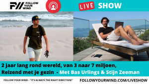 Bas Urlings - FOLLOW YOUR WIND - LIVE SHOW
