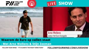 Arno Wellens in de FOLLOW YOUR WIND - LIVESHOW