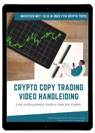 Handleiding Crypto Copy trading ipad afbeelding