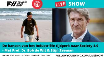 Bob de Wit - FOLLOW YOUR WIND - LIVESHOW