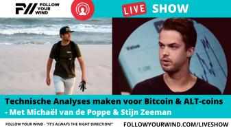 Michael van de Poppe in FOLLOW YOUR WIND - LIVESHOW
