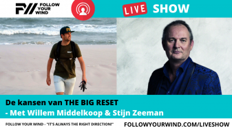 Willem Middelkoop in de FOLLOW YOUR WIND - LIVESHOW